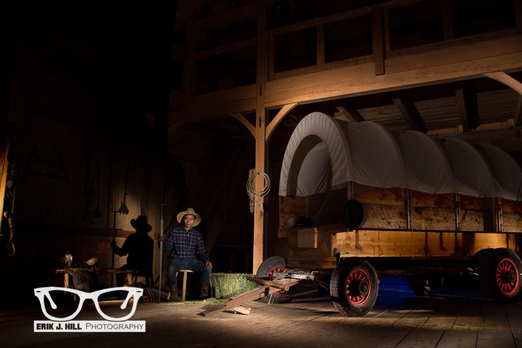Light Painting Eric Curry Barn Erik J Hill Photography