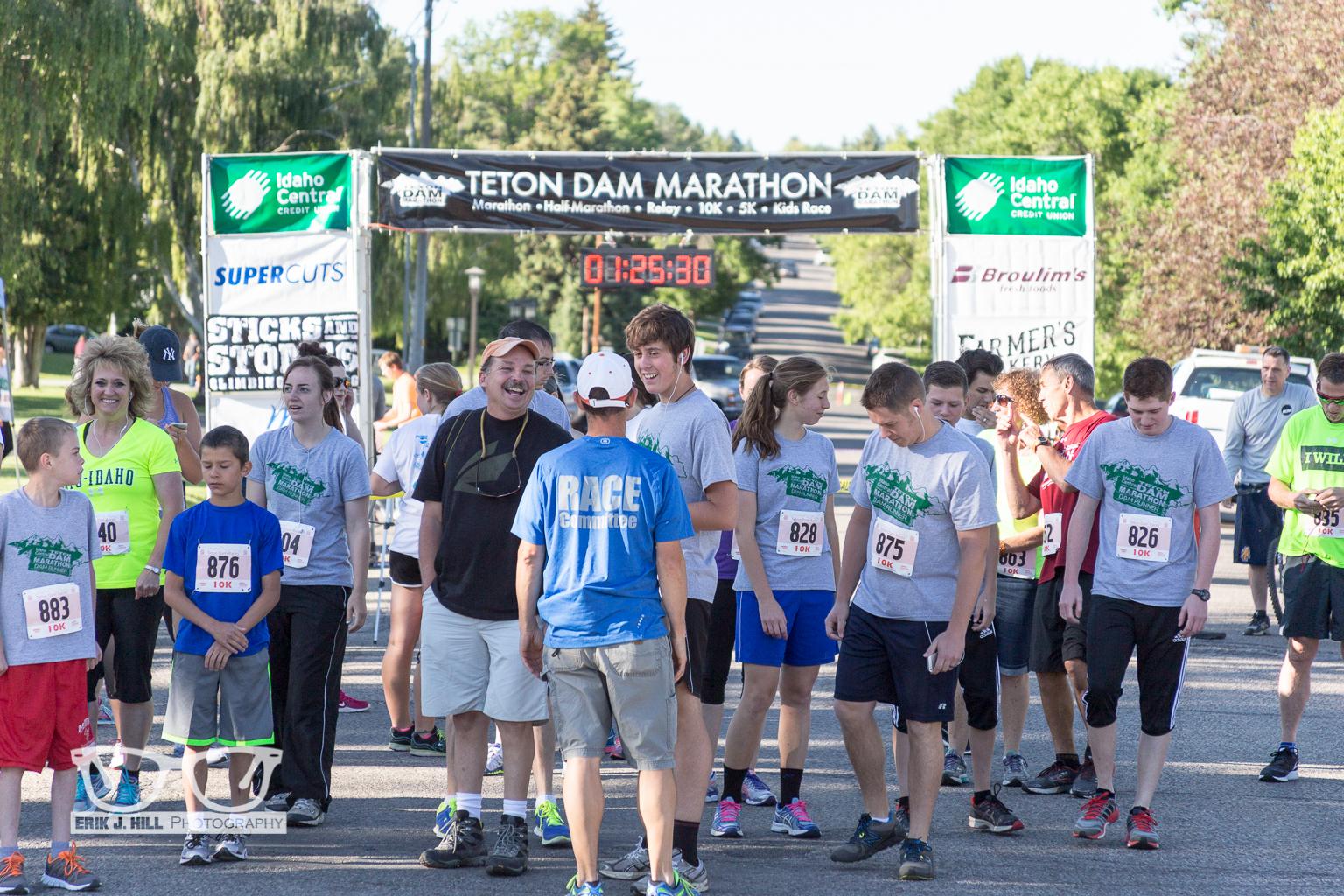 Teton Dam Marathon - Erik J  Hill Photography