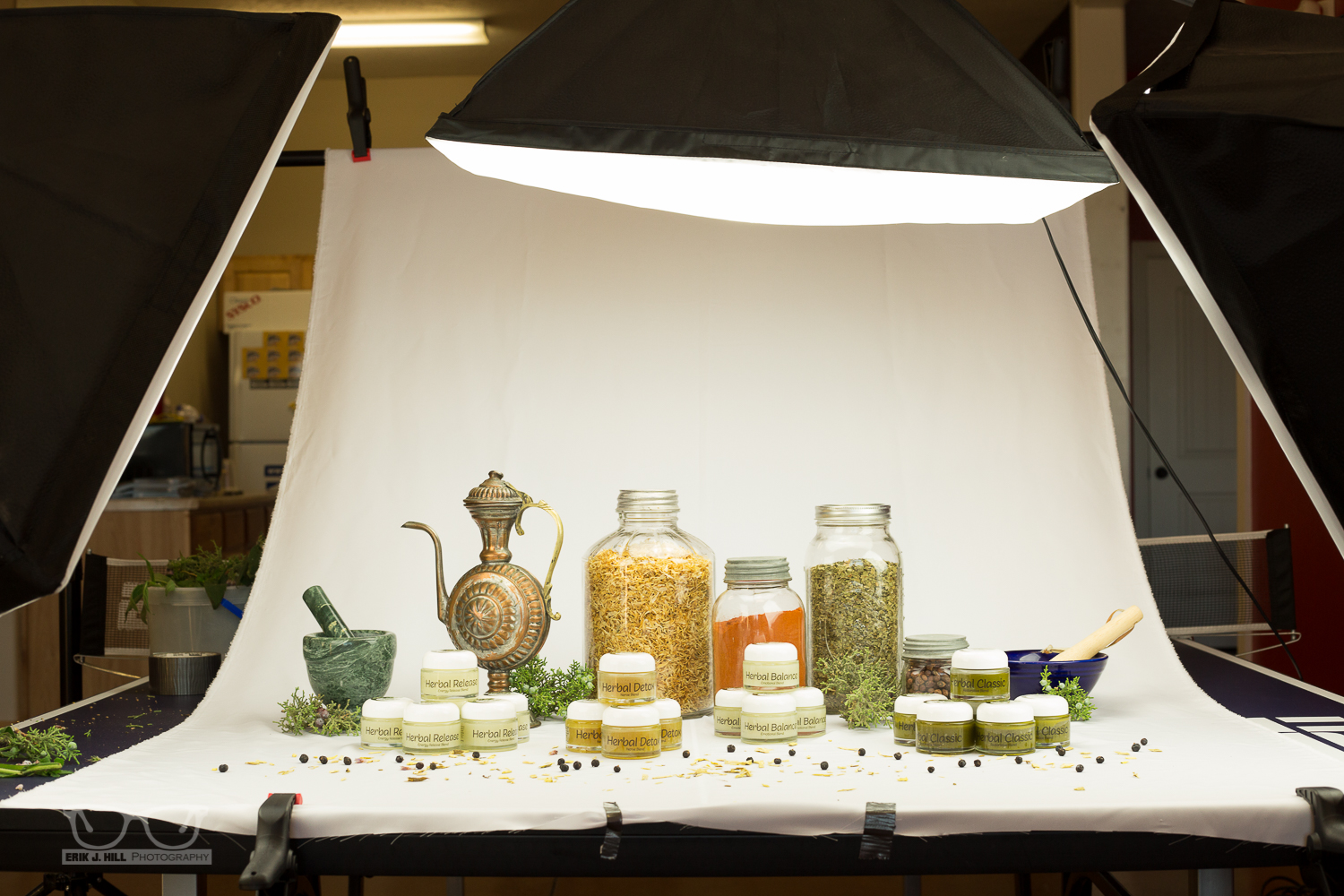 Purity Natural Elements - Erik J. Hill Photography for Lamp Product Photography  45gtk