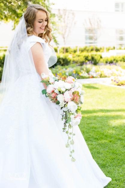 Victoria And Jon Idaho Falls Temple Wedding Photographer